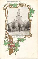 Early 1900's Postcard St. Paul's Church Halifax NS Photo Warwick Bros 389 Fancy