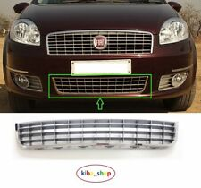 FIAT LINEA 07-13 FRONT BUMPER CENTRE LOWER GRILLE GRILL SILVER/CHROME 735492429