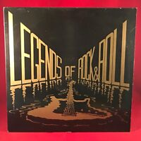 VARIOUS Legends Of Rock & Roll 1988 UK Vinyl LP Jet Harris signed Jess Conrad