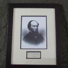 Autograph of Calvin Tilden Hulburd - CIVIL WAR era Representative for New York