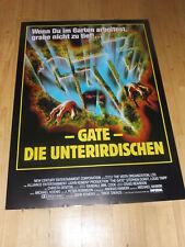 GATE - DIE UNTERIRDISCHEN - Kinoplakat A1 ´87 - STEPHEN DORFF