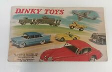 Vintage Dinky Toys 1959 Original Catalogue USA