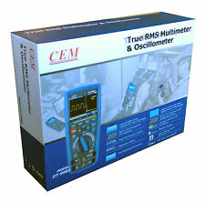 CEM DT-9989 True RMS Industrial Multimeter Oscilloscope with Color LCD Display !