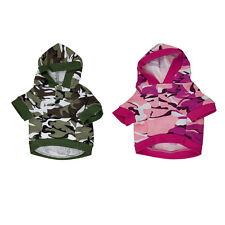 Winter Warm Pet Dog Puppy Clothes Hoodie Camouflage Costume Coat Jacket XXS-L