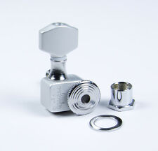 Sperzel Trimlok EZ-Mount 7 String Satin Chrome locking tuners - No Drilling!