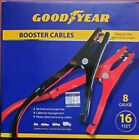 Goodyear Heavy-duty Booster Jumper Cables 16 Ft 8 Gauge For Auto Car Battery