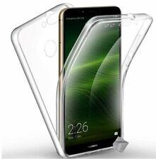 Housse etui coque gel 360 integrale Huawei Y7 (2018) + film ecran - TRANSPARENT