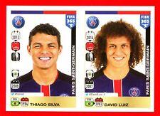 FIFA 365 2015-16 PANINI 2016 -Figurina Stiker- n. 434/435 - PSG -New