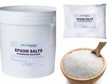EPSOM SALT | Choose Size! | 1KG - 20KG Bag or Bucket | Pharmaceutical/Food Grade