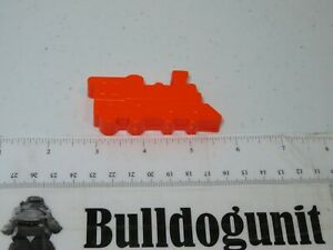 1984 Discovery Toys Place & Trace Plastic Orange Train Replacement Part Only