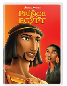 The Prince of Egypt DVD 2018 Val Kilmer Sandra Bullock Jeff Goldblum Michelle