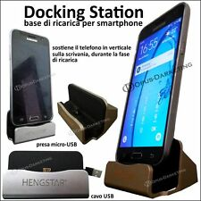 DOCKING STATION BASE RICARICA SCAMBIO DATI PER ALCATEL ONE TOUCH POP3 5.5