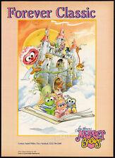 Jim Henson's MUPPET BABIES__Original 1987 Trade AD / Toy license promo / poster