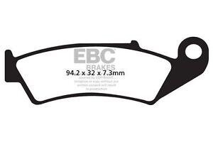 Pour Honda XR 250 RM / Rn / Rp / RR / Rs 91>95 EBC Avant Plaquette Frein
