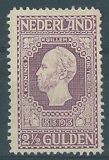 1913 TG Nederland Jubileumzegel  NR.99 Postfris  zie foto's mooie zegel!
