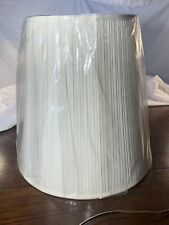 Cream Mushroom Pleated Lamp Shade 12 X 18 X 18 Spider # K5507