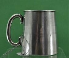 vintage sterling silver child's Christening Cup B & Co Birmingham 1931 as found