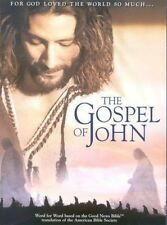 The Gospel of John - Visual Bible (NEW DVD) Complete 3HR Word-For-Word Movie!!
