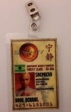 Serenity/Firefly Id Badge - Shepherd Derrick Book cosplay costume prop