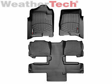 WeatherTech DigitalFit FloorLiner Tahoe/Yukon w/Bucket- 1st/2nd Row - Black