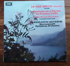 Elgar - In The South, Silvestri, ASD 2370, ED1, EX+/EX+, UK Freepost