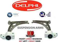 FOR VW CADDY III 2004-2008 1.6 1.9 2.0 NEW FRONT LOWER LH+RH WISHBONE ARMS SET