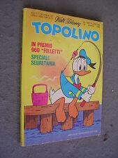 TOPOLINO # 1269 - 23  marzo 1980 - WALT DISNEY - QUASI OTTIMO