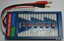 Safe T-Plug (Deans Style) / JST-XH Parallel Board w/ 40A Fuse - Charge & Balance