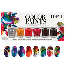 [OPI] Blendable Nail Polish Lacquer COLOR PAINTS Limited Edition 6pc Set NEW!