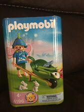 Playmobil Fairy Lot set 4196 Flower Girls Floating Water Lily Retired New
