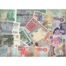 Billets de banque neufs, tous pays en pochette.