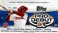 2013 Topps Pro Debut Baseball - Pick A Player