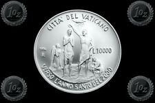 PROOF VATICAN 10000 LIRE 1996 KM# 271 HOLY YEAR - JESUS MASTER SILVER Coin
