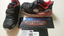 BOYS SKECHERS LIGHT-UP HOT LIGHTS ATHLETIC SHOES NEW 2.5 SIZE 2 1/2 YOUTH NO BOX
