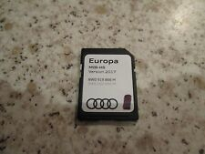 AUDI SAT NAV NAVIGATION SD CARD 2017 SATELLITE NAVIGATION DISC A1 EUROPE MIB-HS