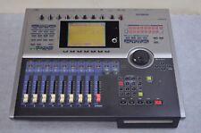 YAMAHA AW2816 Professional Audio Workstation moving fader HDD 60GB CD-R/RW