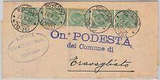 Brescia --- ITALIA REGNO:  storia postale - BUSTA / LETTERA : Bovegno 1927
