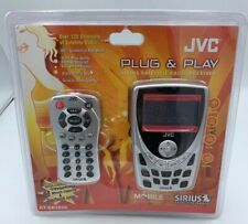 NEW JVC Plug & Play Sirius Satellite Radio Receiver W/Remote KT-SR3000 VINTAGE