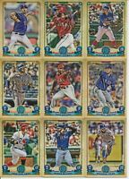 TEXAS RANGERS 2019 Topps Gypsy Queen BASE TEAM SET (9 Cards) Springs RC+