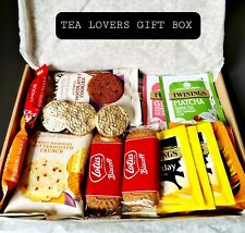 Tea, Biscuits, Chocolate Letterbox Gifts