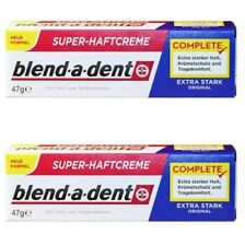 Blend a Dent Extra Strong Denture Adhesive Cream Original 2*47g (3.3oz) German