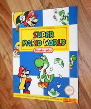 SNES Super Mario World Nintendo Lösungsbuch Buch Spieleberater Guide