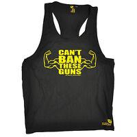 Cant Ban These Guns Mens Vest Gym Bodybuilding Vest Training birthday gift