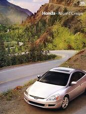 2005 Honda Accord Coupe 28-page Original Car Sales Brochure Catalog