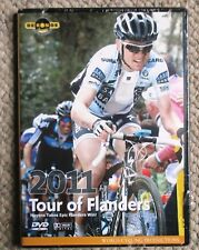 2011 Tour of Flanders World Cycling Productions 2 DVD set Nick Nuyens New/Sealed