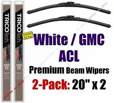 Wiper Blades 2-Pack Premium - fit 1988-1995 White GMC ACL - 19200x2