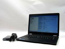 Dell Latitude E7470 14 HD+ FHD i5-6300U 2.4GHz 4-16GB 0-512GB M.2 SSD Windows 10