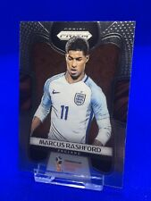 Panini Prizm 2018 World Cup Marcus Rashford Base Card.