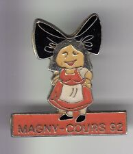 RARE PINS PIN'S .. TOURISME REGION ALSACE FOLKLORE COIFFE1992 MAGNY COURS 58 ~DH