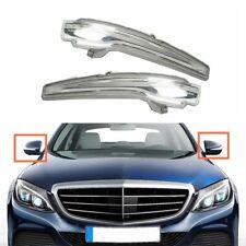 Par ala Espejo Señal De Vuelta Luz LED apto para Mercedes C-Class W204 clase e